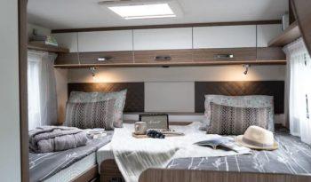 Carado T 447 lakóautó – hosszanti ágyakkal full